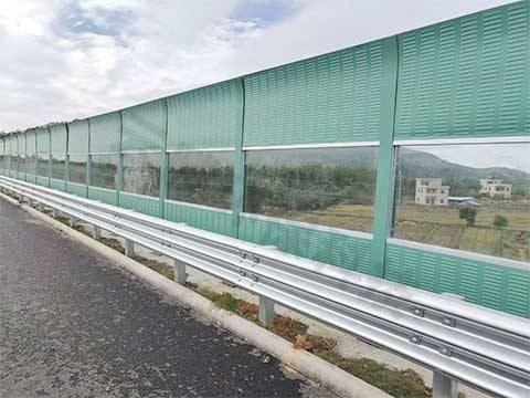 高架桥声屏障案例